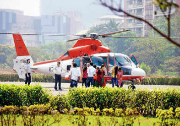 Helicopter Service For Joy Ride